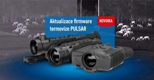 Aktualizace firmware pro termovizi PULSAR
