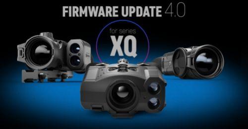 Aktualizace firmware 4.0 pro termoviziní přístroje řady XQ