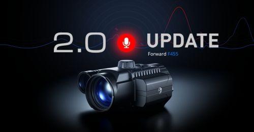 Firmware UPDATE 2.0 pro Forward F455/FN455