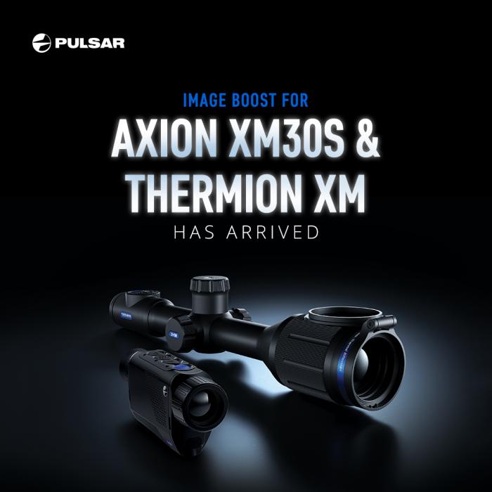 Aktualizace firmwaru 4.5 pro Axion XM30S a Thermion XM
